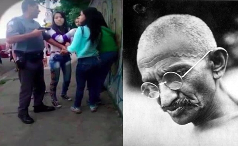 PM e Gandhi